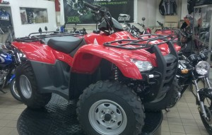 HONDA TRX 420 TE ES ELECTRIC SHIFT  4X2  2012   (1)