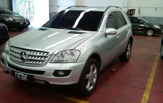 MERCEDES BENZ ML 350 4 MATIC LUXURY 2007 170000KM (11)