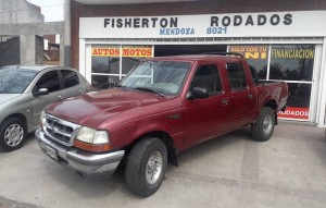 FORD RANGER 1998 DOBLE CABINA