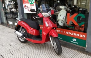 KYMCO PEOPLE 200 S 2013 (ROD 2015) 11000KM (4)